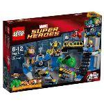 Lego 76018 - Super Heroes : Marvel Comics - La destruction du labo