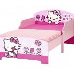 Lit Hello Kitty avec sommier (70 x 140 cm)