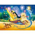 Clementoni Aladin et Jasmine: En tapis volant 60 pièces