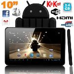 """Yonis Y-tt10g24 - Tablette tactile 10"""" sous Android 4.2 (8 Go interne + Micro SD 16 Go)"""