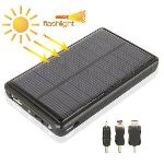 Yonis Batterie solaire universelle 5000 mAh iPhone Galaxy Lumia Xperia