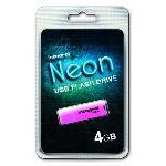 Integral INFD4GBNEON - Clé USB 2.0 Neon 4 Go