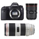 Canon EOS 6D (avec 2 objectifs 24-70mm et 70-200mm)