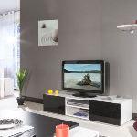 Meuble TV Mango avec 2 niches (140 cm)