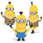 Mondo Figurine Build-A-Minion Arctic Kevin/Banana les Minions