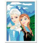 Ravensburger Peinture au numéro d'art : Elsa et Anna La Reine des Neiges