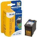 Pelikan H40 - Cartouche d'encre noire compatible HP 21XL