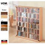 Vcm Meuble CD/DVD pour 300 CD