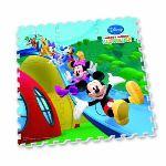 Diset Puzzle de sol : Tapis Mousse Mickey 9 pièces