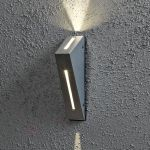 Konstsmide 7912-310 - Applique d'extérieur LED Imola Up & Down