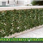 Euro Castor Green Treillis fleuri extensible 1 x 2 m
