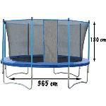 CDTS Trampoline 365 cm avec filet de protection