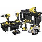 Dewalt DCK591M3 - Pack 5 outils sans fil 18V 4Ah Li-Ion