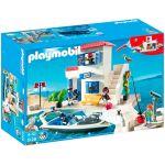 Playmobil 5128 - Police du port et bateau rapide