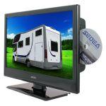 Sedea TV Camping car combo DVD 47 cm décodeur satellite intégré