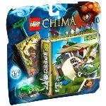 Lego 70112 - Legends of Chima : La morsure croco