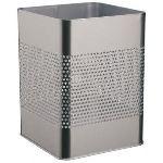 Smead 3321-23 - Poubelle carrée métallique (18,5 L)
