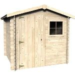 Decor et jardin 50120S000 - Abri de jardin en bois massif 19 mm 4,37 m2
