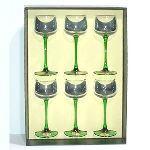 Cristal de paris 6 verres à pied d'Alsace (29 cl)
