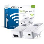 Devolo 9835 - dLAN 550+ WiFi pont Branchement mural