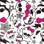 Cti Monster High White Velvet - Drap housse (90 x 190 cm)