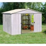 Yardmaster Eco 109ZGEY - Abri de jardin en métal 7,61 m2