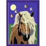 Ravensburger Peinture au numéro : Cheval au clair de lune (27896)
