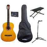 Brighton Pack apprentissage guitare classique 1/2 avec accessoires