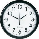 EuroTime Horloge à gros chiffres lumineuse
