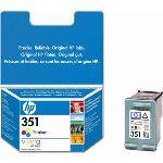 HP CB337EE - Cartouche d'encre n°351 3 couleurs