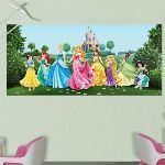 Poster géant Château et Princesses Disney