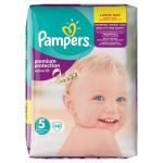 Pampers Active Fit taille 5 Junior 11-25 kg - 48 couches