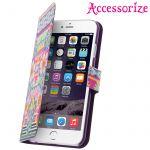 Accessorize IPAC-DI-AZTEC-I6 - Étui à clapet pour iPhone 6