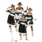 Widmann Robe/Chemise western cowgirl Dorée (taille 38-40)