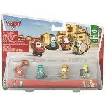 Mattel Cars - La bande d'oncle Apolino : assortiment de véhicules