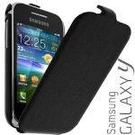 Samsung ETUISMS5360 - Étui à clapet pour S5360 Galaxy Y