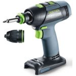 Festool T 18+3 Li-Basic - Perceuse-visseuse sans fil (sans batterie)