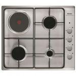Sauter SPE4464MX - Table de cuisson mixte (gaz et électrique) 4 foyers