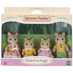 Epoch Sylvanian Families 5180 - Famille chat tigre