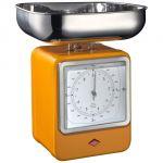 Wesco Balance de cuisine mécanique avec horloge