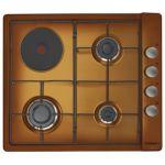 Rosières RTL 631 EM - Table de cuisson mixte 4 foyers