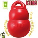 Kong Bounzer Medium - Jeu multiboule ultra résistant pour chien