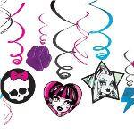 12 guirlandes verticales Monster High