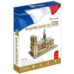 CubicFun Cathédrale Notre-Dame de Paris - Puzzle 3D 74 pièces