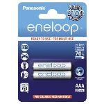 Panasonic Accus eneloop NiMH R03 (AAA) 1.2 V 750 mAh 2 pc(s)