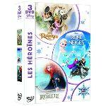 Disney les héroïnes: La Reine des Neiges + Raiponce + Rebelle