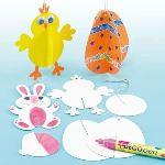 Baker Ross Décorations 3D de Pâques à suspendre