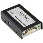 Aten VE600A - Système d%u2019extension audio-vidéo DVI par câble de catégorie 5e/6 (60 m)