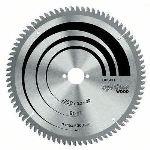 Bosch 2608640437 - Lame de scie circulaire Optiline Wood pour scies à onglets radiales Ø 254 mm 80 dents