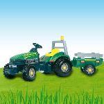 Smoby Tracteur à pédales avec remorque TGM stronger